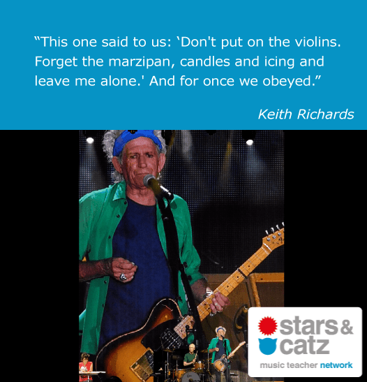 Keith Richards Music Quote 7