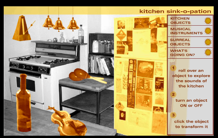 Kitchen Sink-o-pation music game online