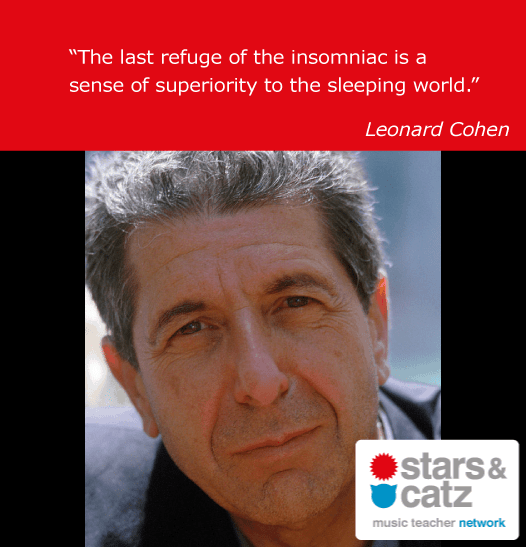 Leonard Cohen Music Quote 3