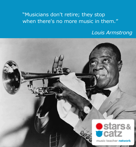 Louis Armstrong Music Quote