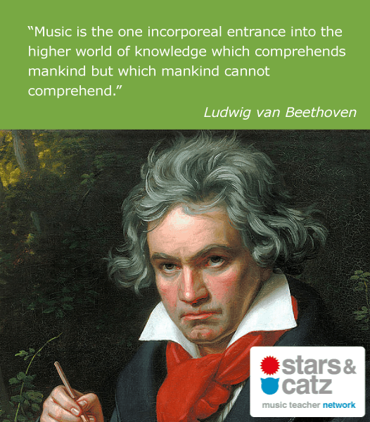 Ludwig van Beethoven Music Quote 4 Image