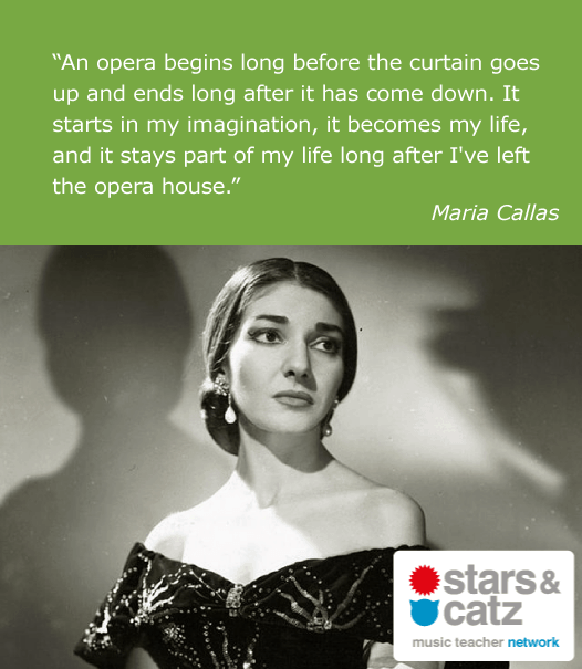 Maria Callas Music Quote Image