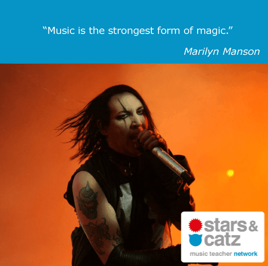 Marilyn Manson Music Quote