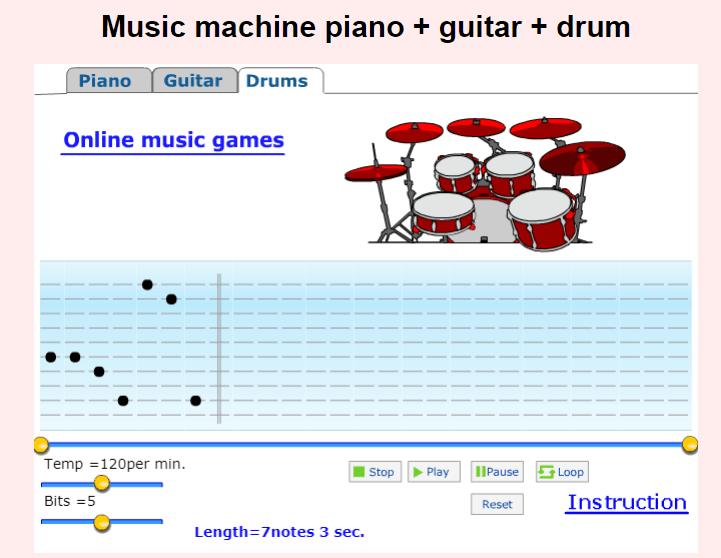 music machine online game