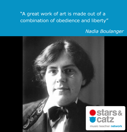 Nadia Boulanger Music Quote