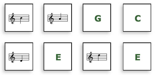 Note Names music game online