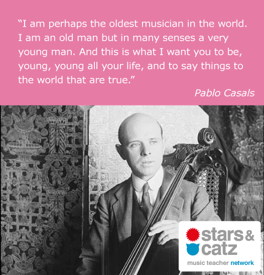 Pablo Casals Music Quote 1 Image