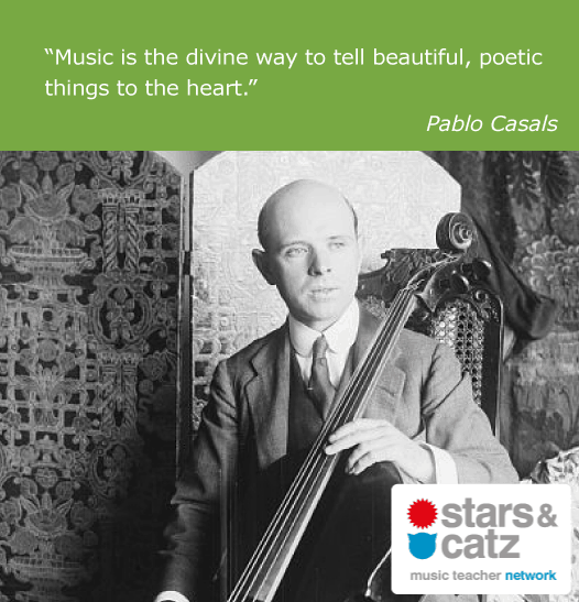 Pablo Casals Music Quote 2 Image