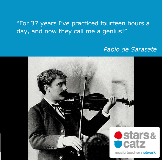 Pablo de Sarasate Music Quote Image