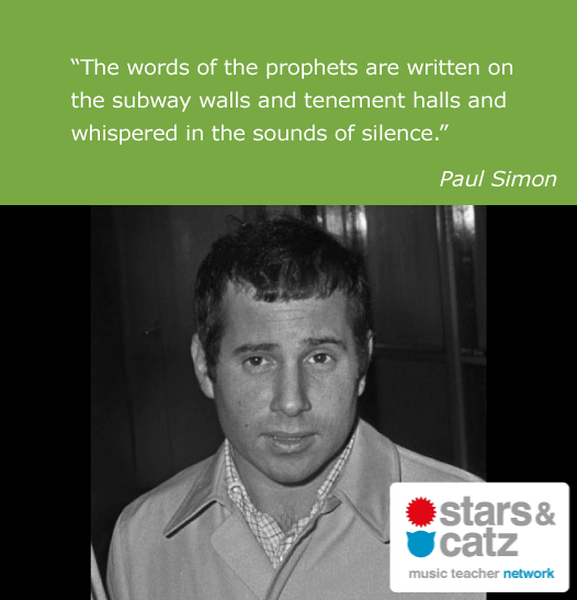 Paul Simon Music Quote