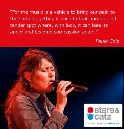 Paula Cole Music Quote
