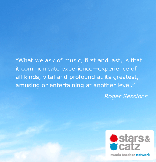 Roger Sessions Music Quote Image