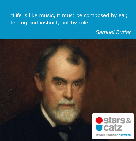 Samuel Butler Music Quote Image