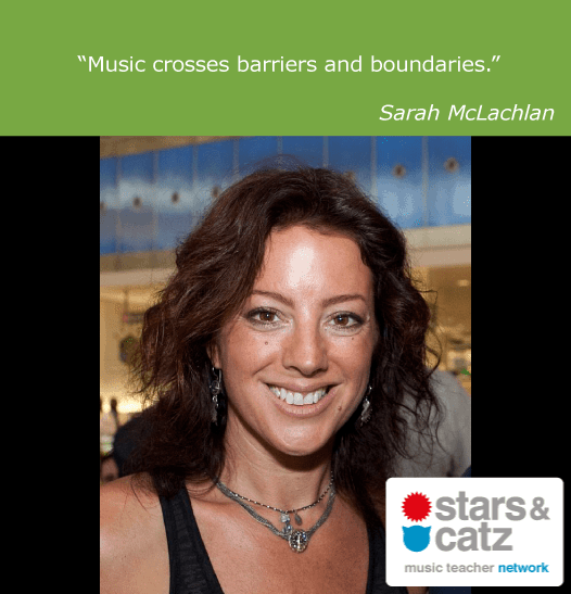 Sarah Mclachlan Music Quote
