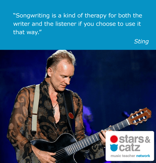 Sting Music Quote