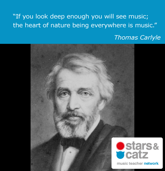 Thomas Carlyle Music Quote 1 Image
