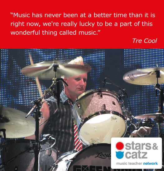 Tre Cool Music Quote