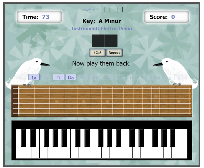 Two Tones music game online