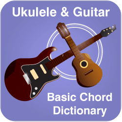 Ukulele and guitar chord finder banner