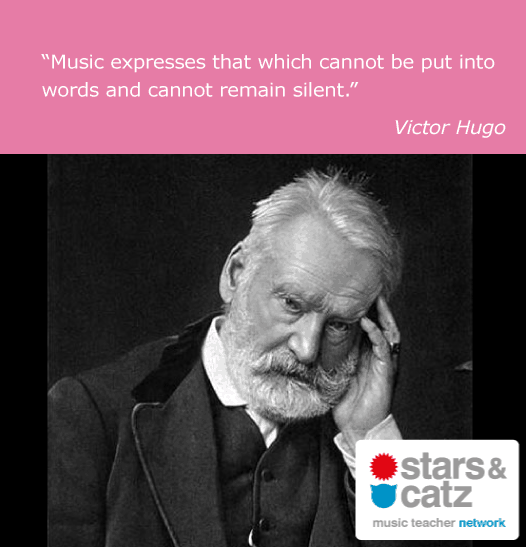 Victor Hugo Music Quote