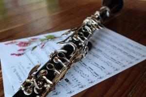 clarinet music sheet