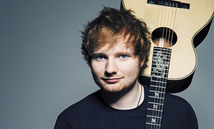 Ed Sheeran with guitar
