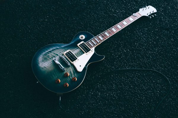 Guitar history: Gibson Les Paul graphic