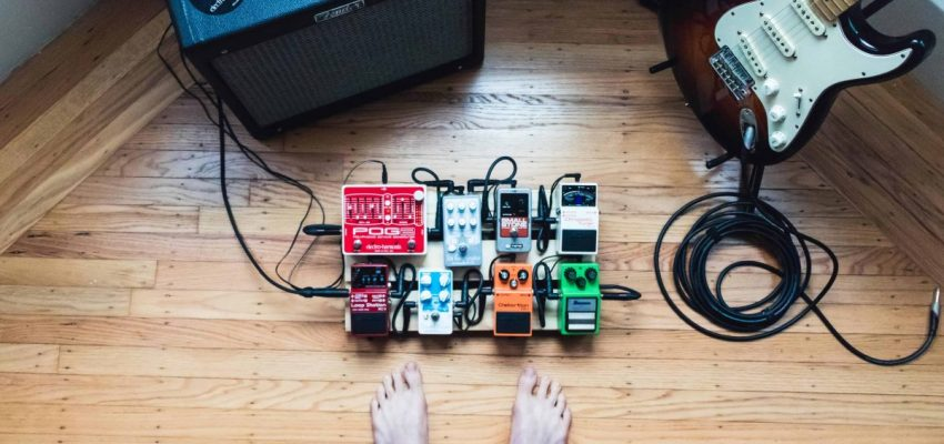 What are guitar pedals & how do you use them?