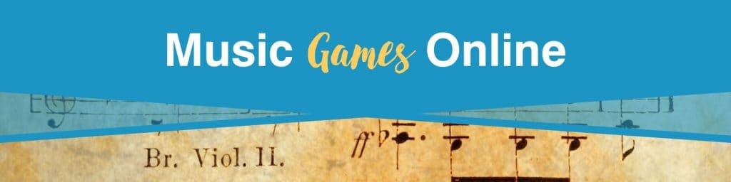 Music games online that help in learning about musical composers