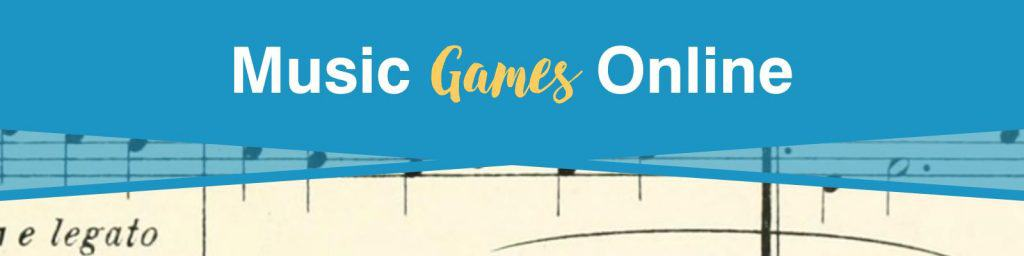 Music games online that help in learning musical vocabulary