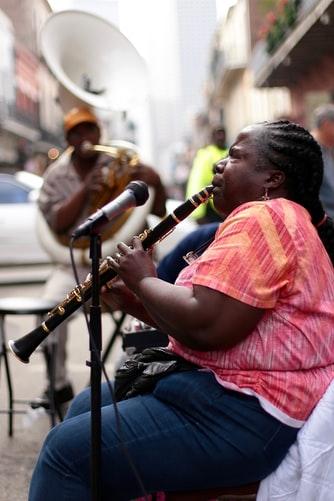 clarinet sitting