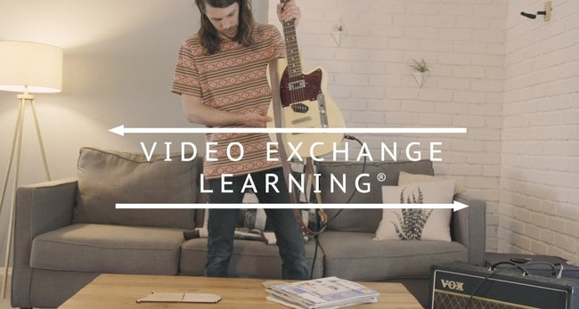 Screenshot of ArtistWorks video exchange learning system